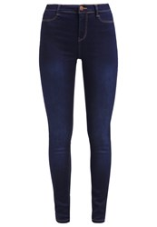 Dorothy Perkins Frankie Slim Fit Jeans Blue Indigo Dark Blue