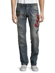 Cult Of Individuality Greaser Slim Cotton Jeans Flea