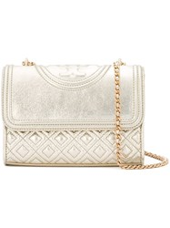 Tory Burch 'Fleming' Shoulder Bag Metallic