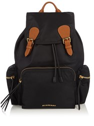 Burberry Large Nylon Backpack Black