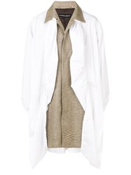 Y Project Covered Coat Neutrals