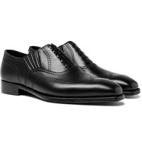 George Cleverley Winston Leather Oxford Brogues Black