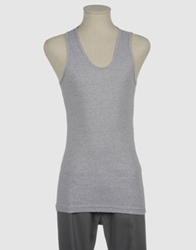 American Apparel Sleeveless T Shirts Black