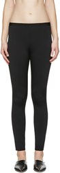 Helmut Lang Black Scuba Leggings