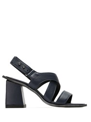Mara Mac Strappy Leather Sandals Blue