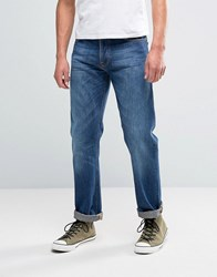 Nudie Jeans Co Loose Leif Jean Classic Crumble Wash Classic Crumble Navy