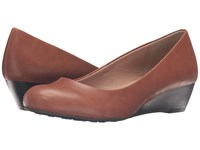 Chinese Laundry Dl Marching Cognac Women's Wedge Shoes Tan