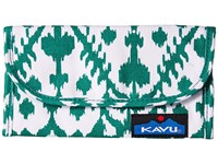 Kavu Big Spender Forest Blot Wallet Handbags Blue