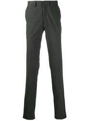 Brioni Slim Fit Tailored Trousers Green