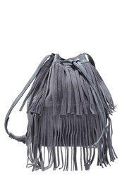 Ichi Rucca Across Body Bag Opay Gray Grey