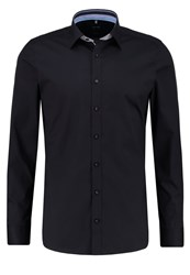 Olymp Level 5 Body Fit Shirt Schwarz Black