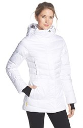 Women's Lole 'Nicky' Water Repellent Quilted Jacket White