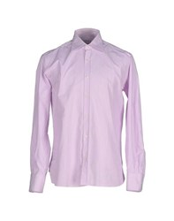 Piombo Shirts Shirts Men Light Purple
