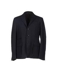 Tru Trussardi Suits And Jackets Blazers Men Dark Blue