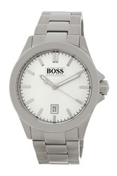 Hugo Boss Men's Essential Bracelet Watch Metallic