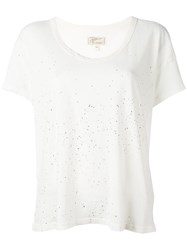 Current Elliott The Slouchy Scoop T Shirt Nude Neutrals