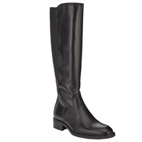 John Lewis Baker Long Leather Knee Boots Black