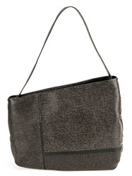 Marsell Asymmetric Shoulder Bag Black