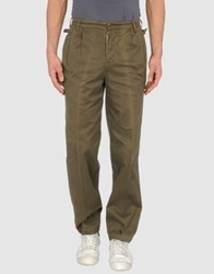 San Francisco Casual Pants Dark Green