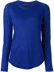 Marc By Marc Jacobs Crew Neck T Shirt Blue