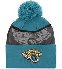 New Era Jacksonville Jaguars Knitted Beanie Grey Teal