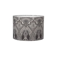 Liberty London Heritage Ianthe Ceiling Lampshade Flower Graphite