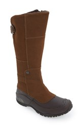 The North Face Women's 'Anna Purna' Waterproof Boot Desert Palm Brown