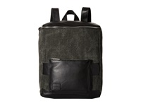 Toms Endeavor Multi Texture Mix Leather Backpack Black Backpack Bags