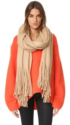 Free People Kolby Brushed Scarf Sand