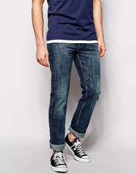 Bellfield Moonshine Jeans In Straight Fit Blue