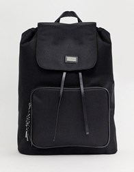 Ted Baker Llewyn Smart Nylon Backpack Black