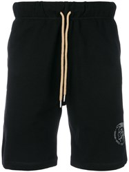 Diesel Casual Shorts Cotton Polyester Black