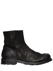The Last Conspiracy Waxed Suede Ankle Boots