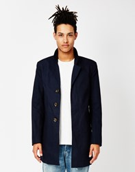 Only And Sons Lorenz Trench Coat Blue
