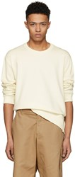 3.1 Phillip Lim Ecru Re Constructed Sweatshirt
