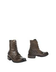 Oto Ankle Boots Military Green