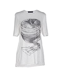 Ostwald Helgason Topwear T Shirts Women Light Grey