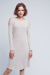 Sol Angeles Apres Open Shoulder Dress Grey