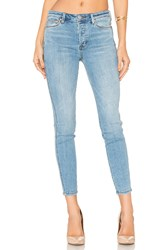 Free People Payton Hi Rise Skinny Jean Light Denim