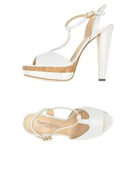 Gastone Lucioli Sandals White