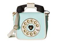 Betsey Johnson Call Me Baby Phone Crossbody Mint Cross Body Handbags Green