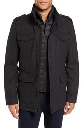 Vince Camuto Men's Austin Wool Blend Military Coat