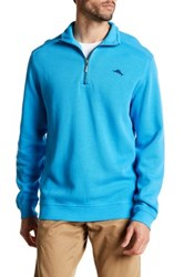 Tommy Bahama Antigua Half Zip Pullover Blue