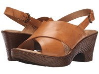 Born Coralyn Nut Women's Wedge Shoes Brown