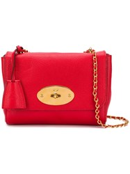 Mulberry Lily Crossbody Bag Red