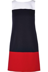 Bailey 44 Boogie Board Color Block Ponte Mini Dress Red