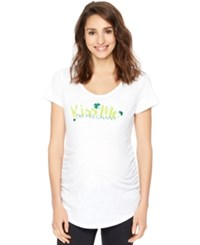 Motherhood Maternity Graphic Tee