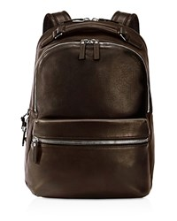 Shinola Runwell Backpack Deep Brown