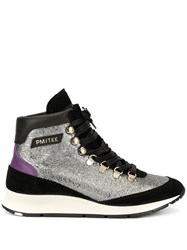 Philippe Model Metallic Panel Sneakers 60
