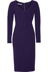 Antonio Berardi Crepe Dress Violet